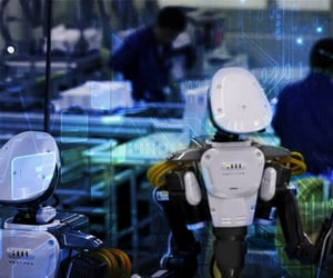 Automation, robotics, and workplace image