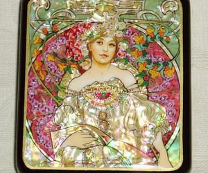russian artist, mother-of-pearl, and lacquer boxes image