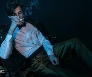 boy, man, and smoke image