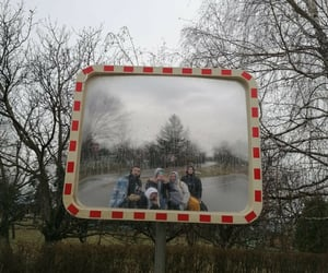 gang, mirror, and trip image