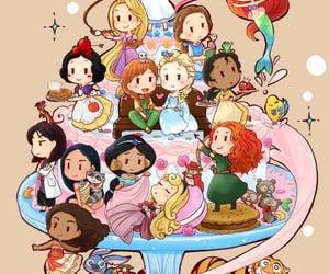 ariel, bela, and jasmine image
