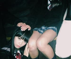 dark, grunge, and japanese image