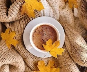 autumn, inspiration, and coffee image