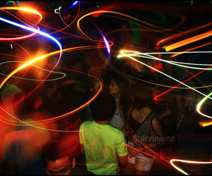 dance, light, and party image
