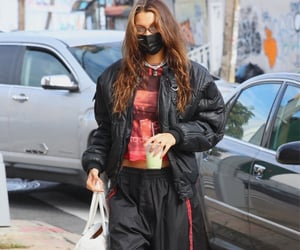 black jacket, street style, and everyday look image