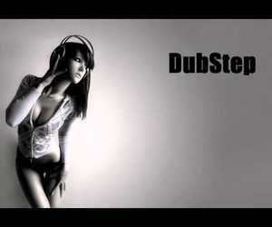 dubstep, girl, and music image