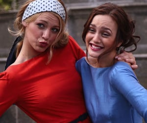 gossip girl, blair, and blair waldorf image