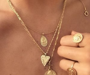 necklace and rings image
