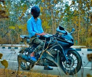 bike, biker, and motorcycle image