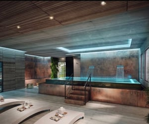 interior design, pool, and drixxdarko image