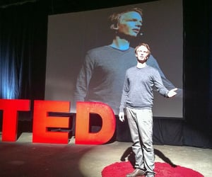 college student and ted talks image