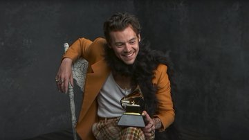 Harry Styles and grammys image