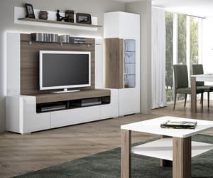 tv console table and kitchen chest of drawers image
