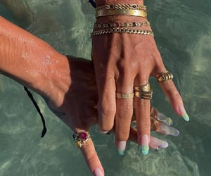 accessories, beach sea, and inspiration image