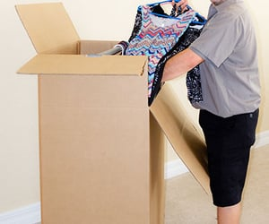 local movers, long distance movers, and professional packing image