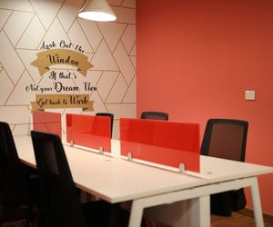 co-working space and work-together image