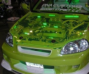 car, aesthetic, and green image
