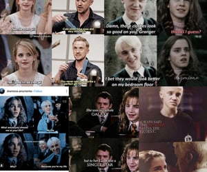 draco malfoy, memes, and hermione granger image