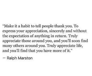 Habit, quote, and thank you image
