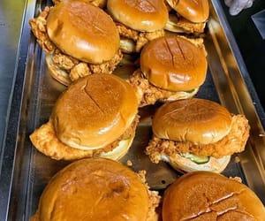 food, hamburger, and nourriture image