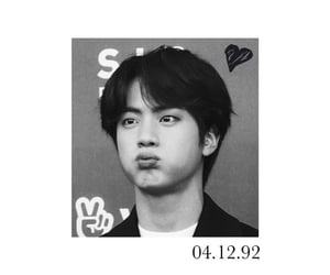 jin, wallpaper, and kim seokjin image