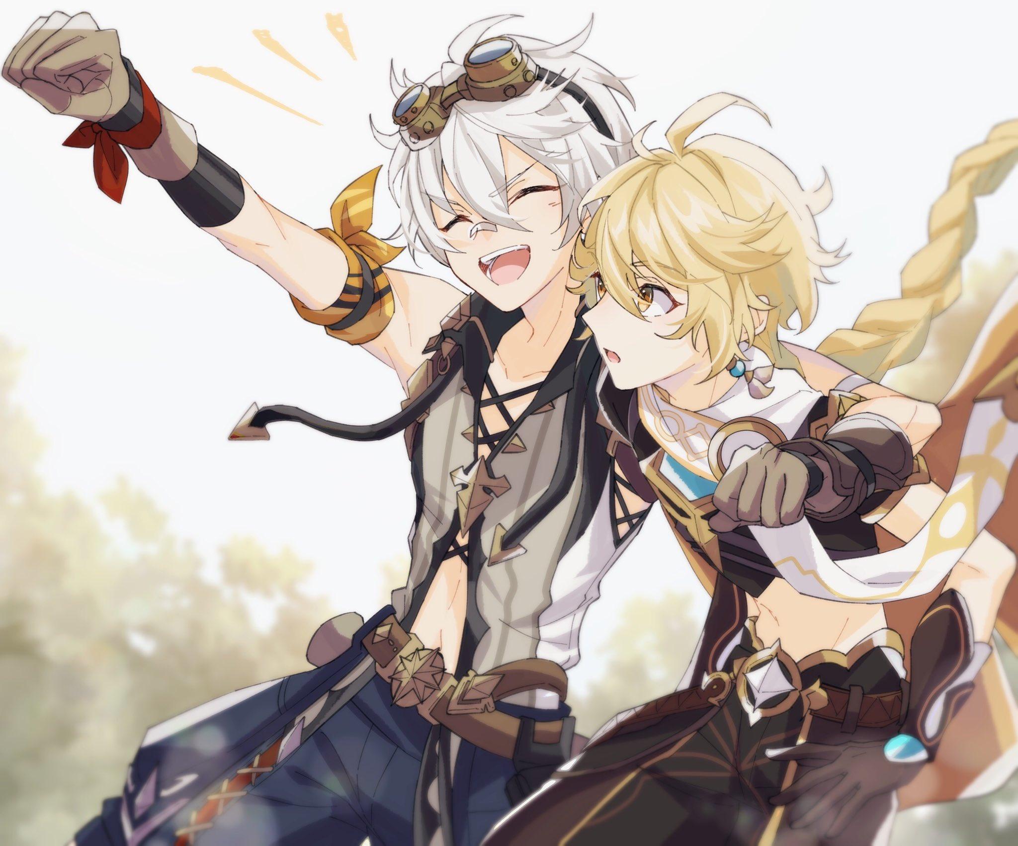 aether, anime, and kawaii image