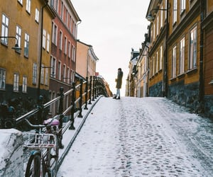 bike, photography, and sweden image