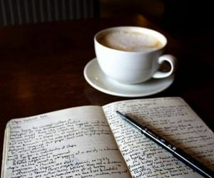 creative, diary, and writing image
