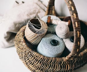 basket, vintage, and photography image