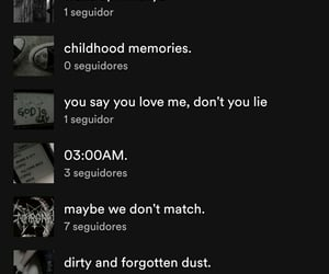 inspo, names, and spotify image