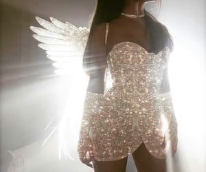 ariana grande, angel, and don't call me angel image