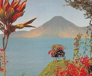 guatemala, volcano, and atitlan image