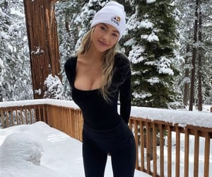 beanie, beauty, and chill image