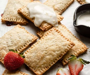 food, pop tarts, and sweets image
