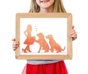 etsy, nursery decor, and dog nursery art image