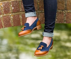 loafers, black loafers, and penny loafers image