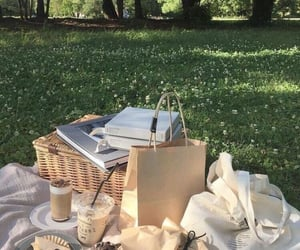 aesthetic, picnic, and green image