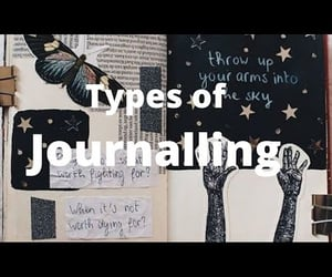 diary, journaling, and video image