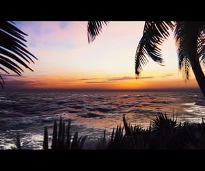 video, waves, and wind blowing image