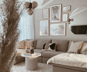 beautiful, beige, and comfortable image