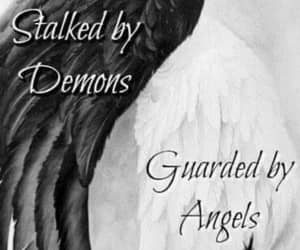 angels, demons, and healing image