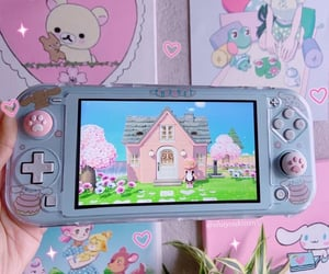 animal crossing, console, and controller image
