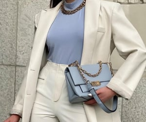 blogger, blue, and classy image