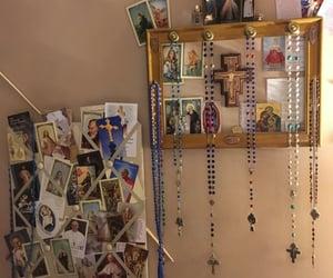 Catholic, rosaries, and prayer cards image