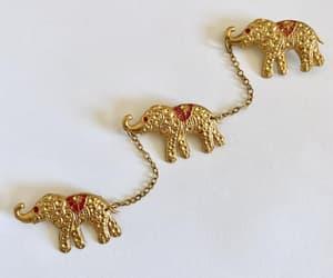 etsy, vintage jewelry, and elephant jewelry image