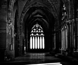 architecture, dark, and black and white image