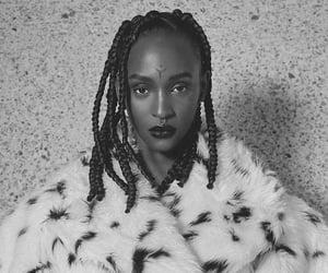 art, black, and fashion image