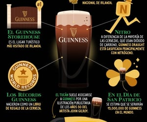 guinness, ireland, and facts image