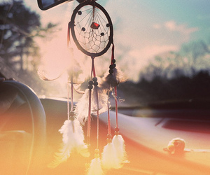 Dream, dreamcatcher, and car image