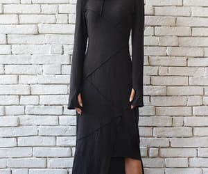 etsy, long dress, and plus size maxi dress image